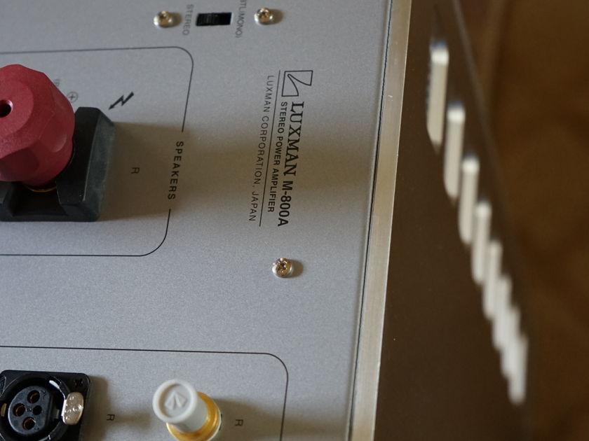 Luxman M-800a Stereo Class A Power Amplifier