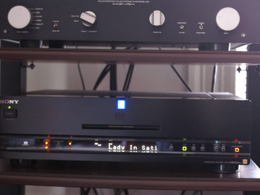 Sony DVP-S9000es CD/DVD/SACD player