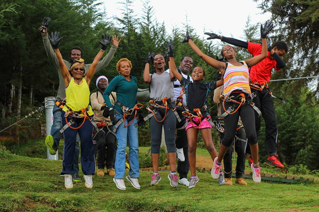 Full Day Zip-Lining Extravaganza