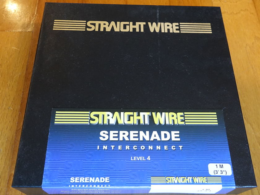Straight Wire Serenade II -  1 Meter Balanced Interconnects