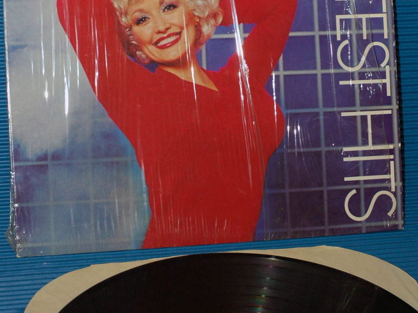 """DOLLY PARTON -  - """"Greatest Hits"""" -  RCA 1982 hot side 1!"""