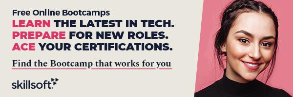 Banner ad for Skillsoft