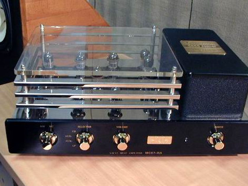 Ming Da MC67-HA Tube Preamp Ming Da MC67-HA  with mm/mc  phono stage