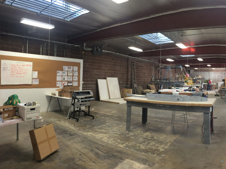 1,000 Sq/Ft of Shared Warehouse and Creative Work Space Available!