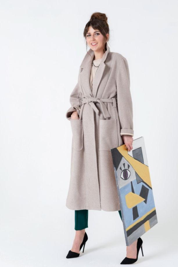 Пальто с карманами арт. 1196010