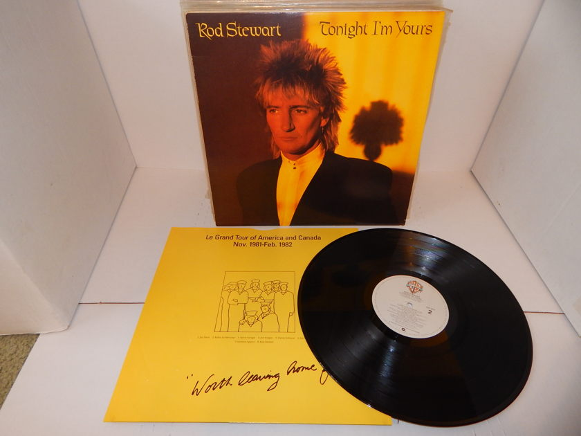 Rod Stewart  - Tonight I'm Yours 1981 Warner BSK 3610 Precision Lacquer & Sleeve NM LP