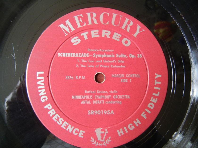KORSAKOV/ - SCHERADADE SYMPHONIC SUITE/ Mercury Living Presence SR90195 Color Back