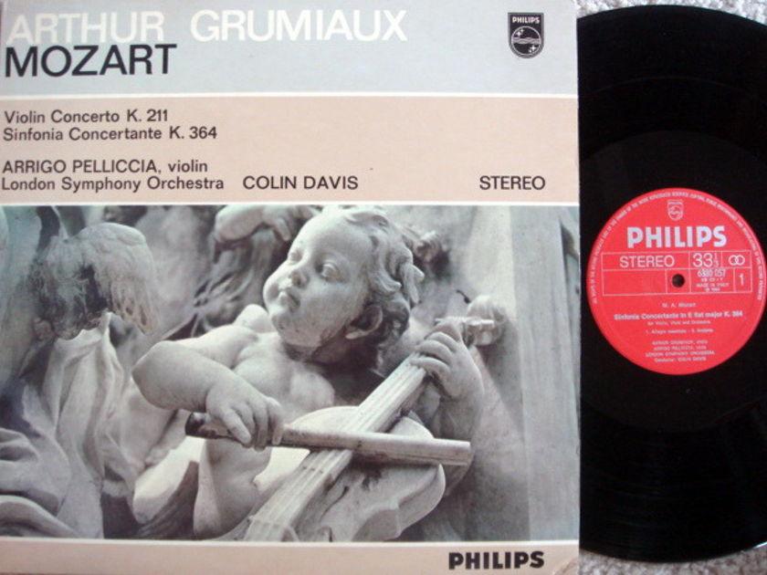 Philips / GRUMIAUX-DAVIS, - Mozart Violin Concertos No.2, NM!