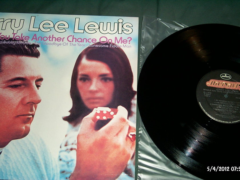 Jerry Lee Lewis - Would You Take another chance on me? lp nm