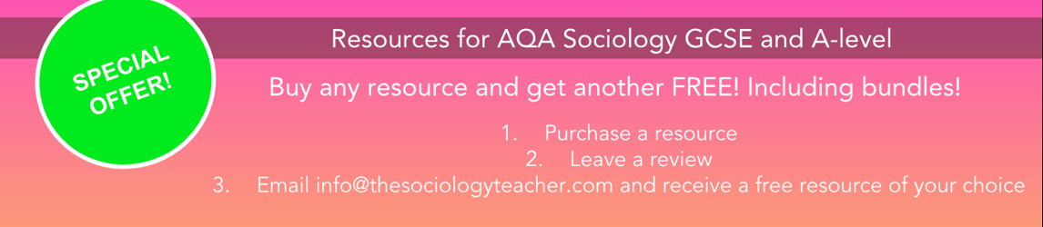 The Sociology Teacher's Shop