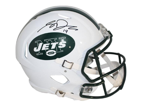 Sam Darnold Hand Signed Authentic New York Jets Helmet