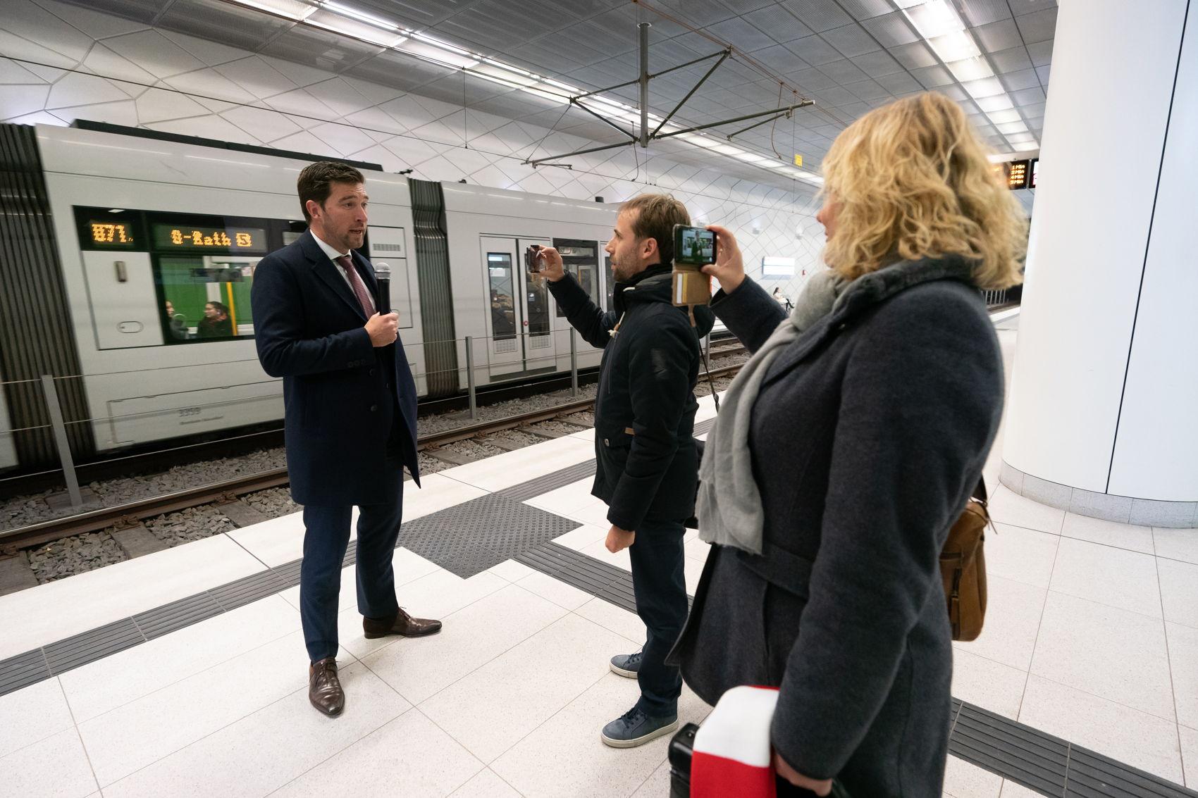 snelle trein boost voor kennisuitwisseling met Eindhoven en Düsseldorf