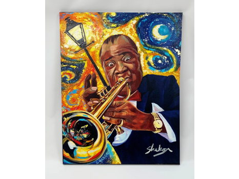 Blow Louie by Artist, Shakor & Gallery Cayenne