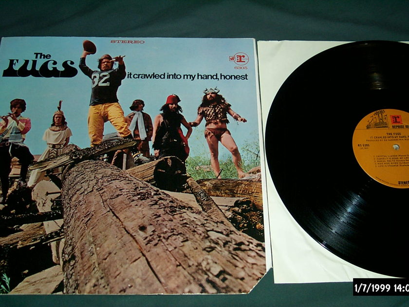 The Fugs - It Crawled Into My Hand,Honest LP NM