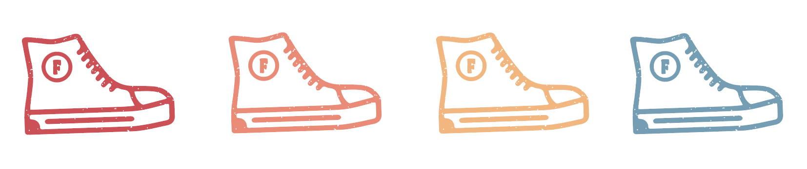 Converse insoles FOOTSOULS logo