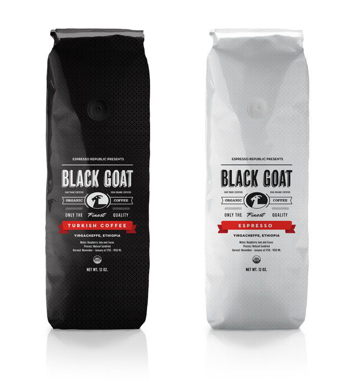 42 black goat coffee packages