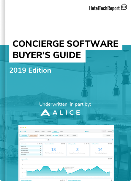 Concierge Software Buyer's Guide