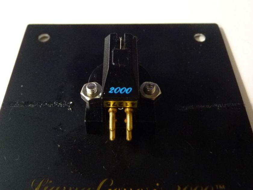 Monster Genesis 2000 MK II cartridge low output MC ZYX 5 star LOMC demo