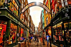 Ditch Oxford Street for Carnaby Street and more