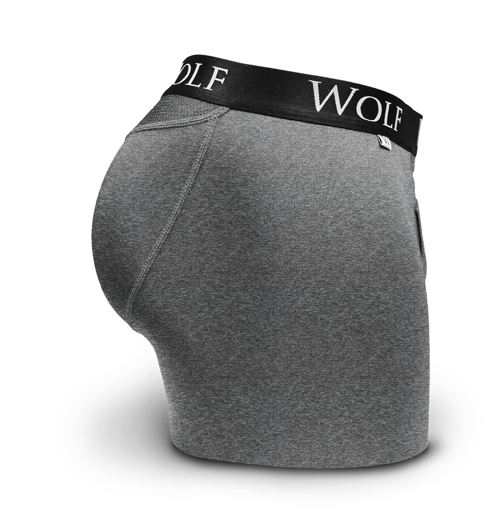 Jefe Boxer Brief Charcoal
