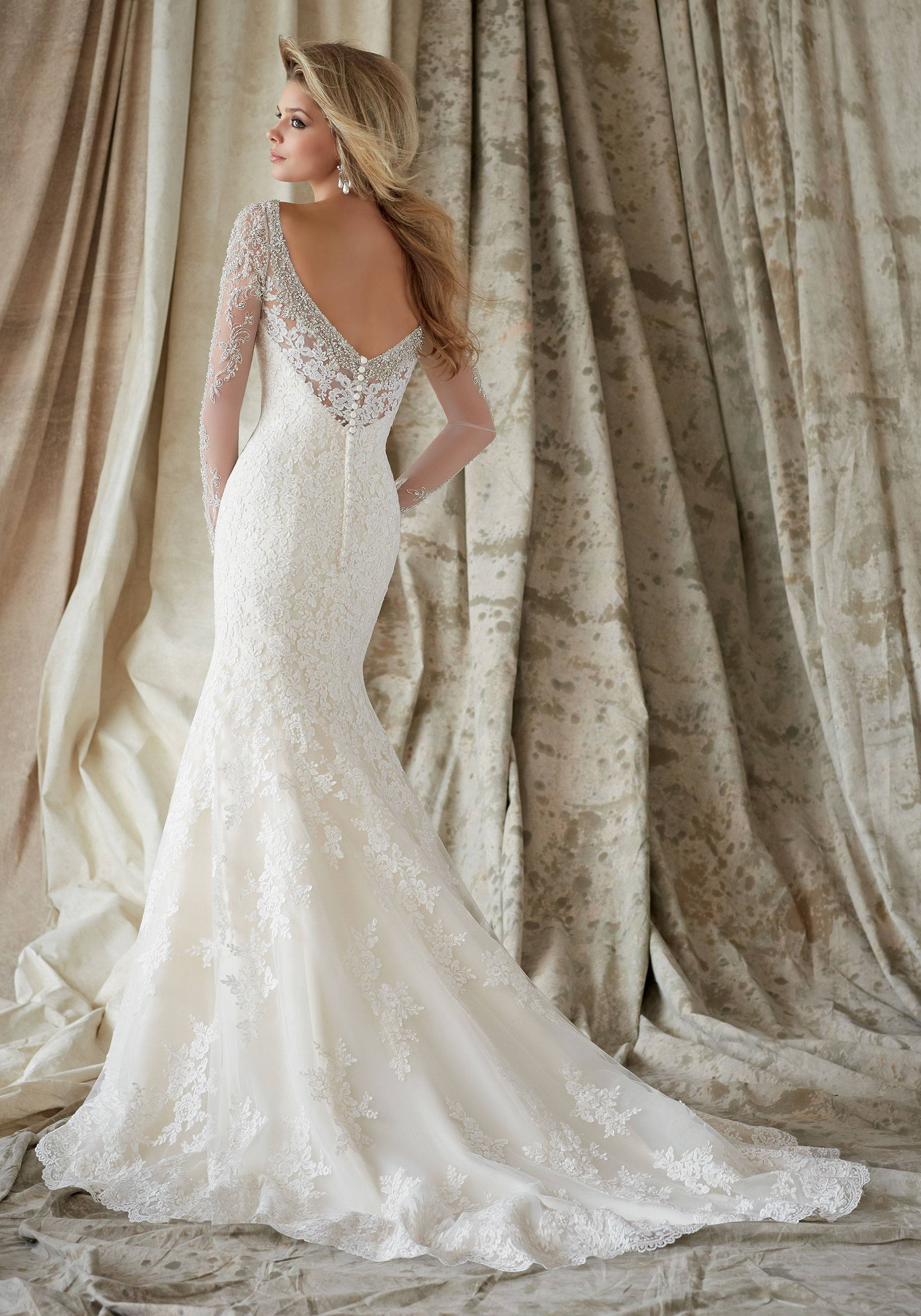 MORI LEE  WEDDING DRESS 1321