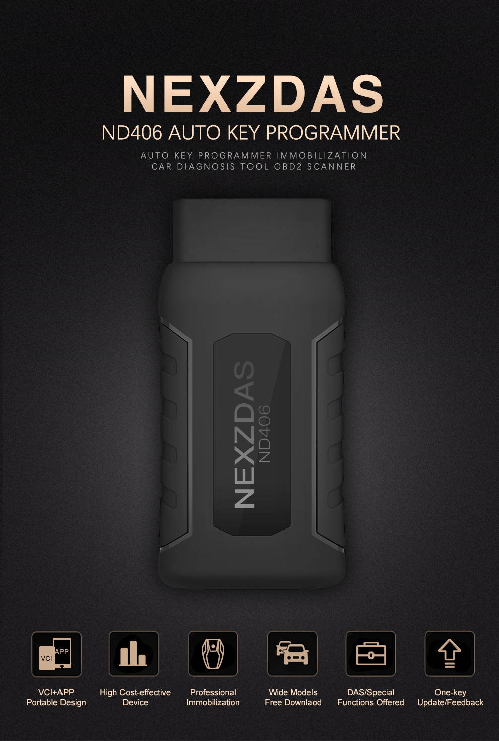 NEXZDAS ND406 Auto Key Programmer – Humzor Offical Website - Auto