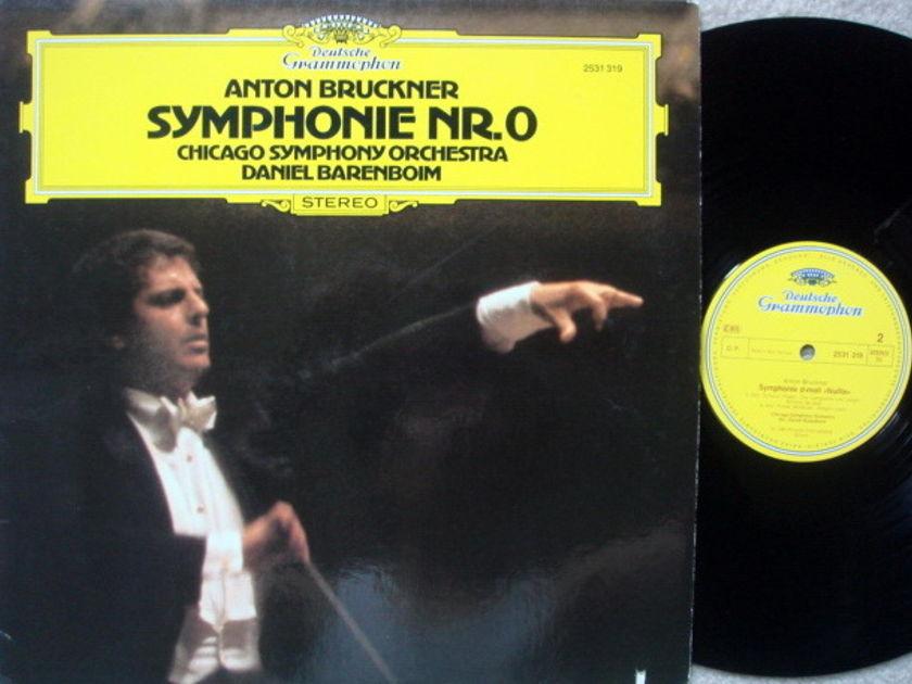 DG / BARENBOIM-CSO, - Bruckner Symphony No.0, NM!