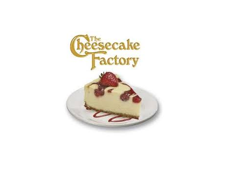 Cheesecake Factory Gift Certificates & Basket