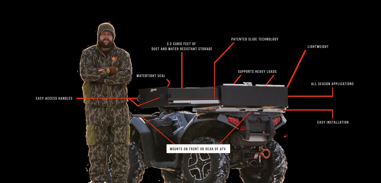 ATV Storage and Cargo Box