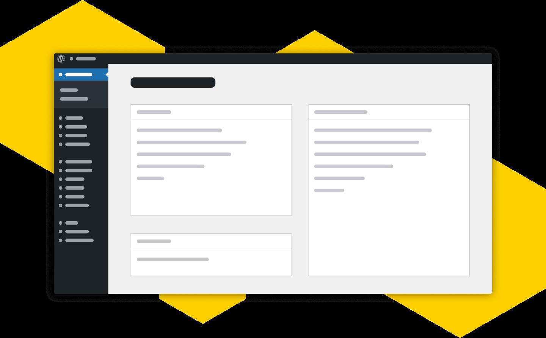 Image of WordPress admin dashboard