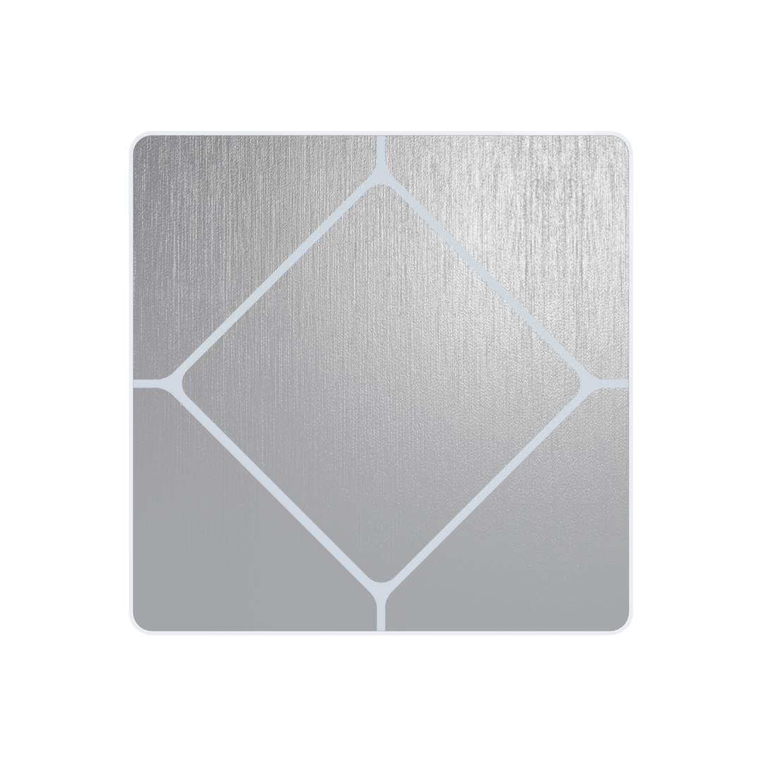 Faradite TAP-1 dry contact Brushed Stainless Steel Switch