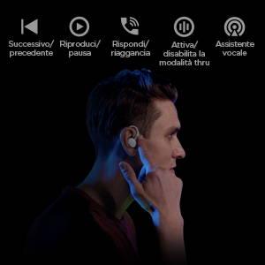 Amazfit Powerbuds - Realmente senza fili. Rilevamento intelligente. Funzione touch