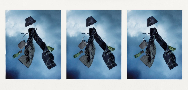 Bik Nylon Hat Calvert Leather Hurley bag and Lambswool scarf
