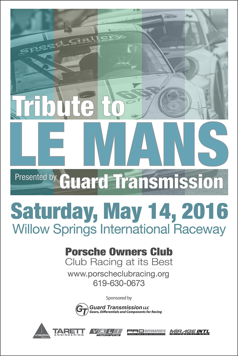 2016 POC Tribute to LeMans Sponsored by Guard Transmission