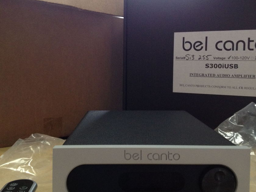 Bel Canto S300iU Integrated Amp with USB DAC