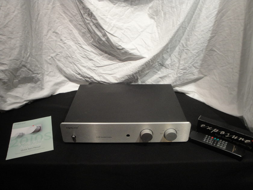 Exposure Electronics 2010s w/ MM phono Integrated Amplifier
