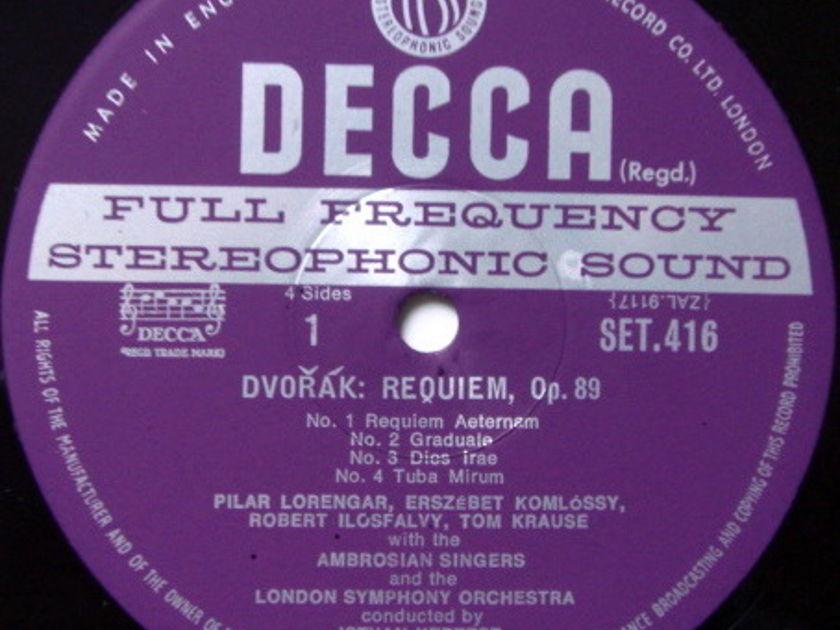 DECCA SET-WB / KERTESZ, - Dvorak Requiem Mass, MINT, 2LP Box Set!