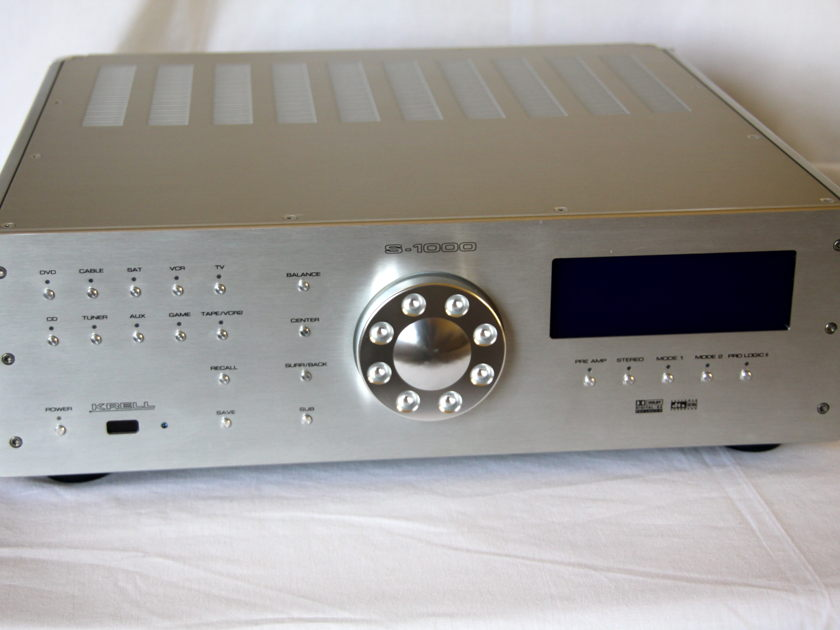 Krell processor S-1000 silver with HDMI excellent OBM