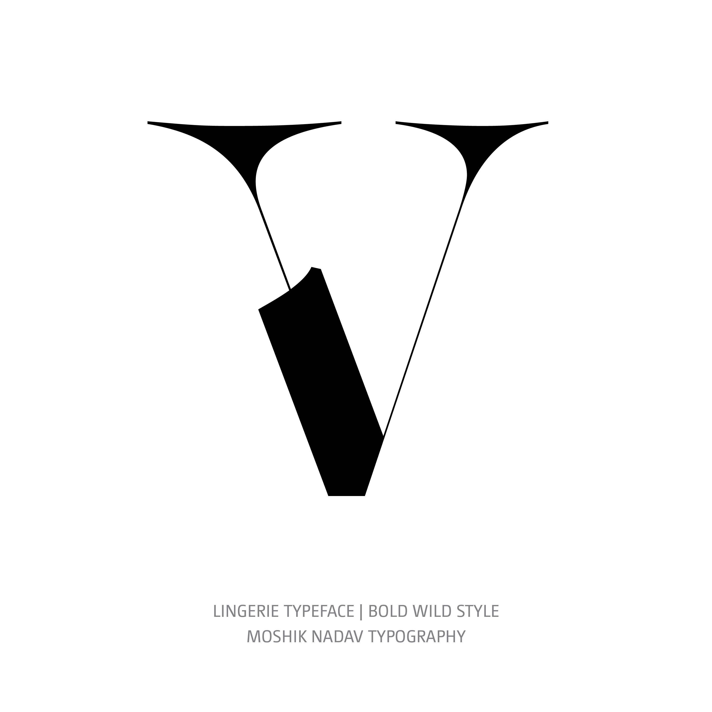 Lingerie Typeface Bold Wild V