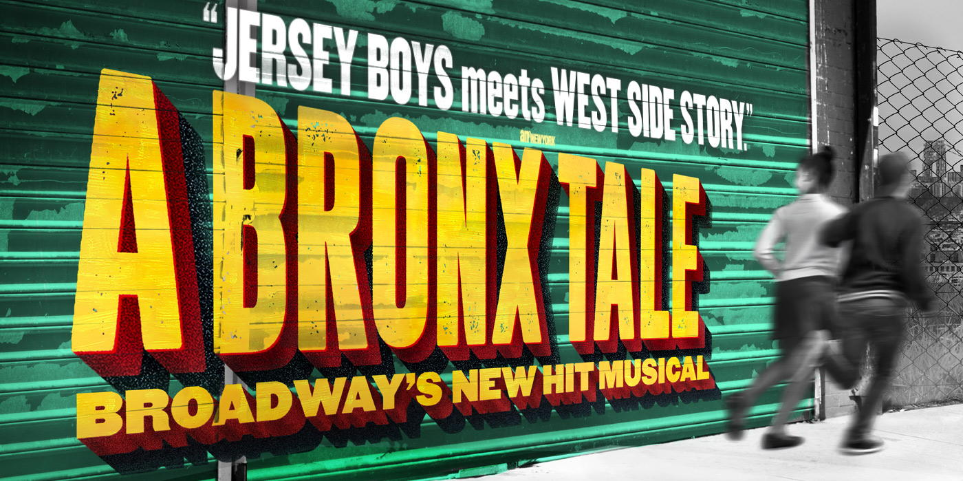 A Bronx Tale at the Shubert Theatre