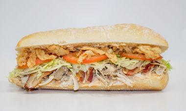 Big Star Sandwich Turkey,Bacon,Provolone,Mack Sauce