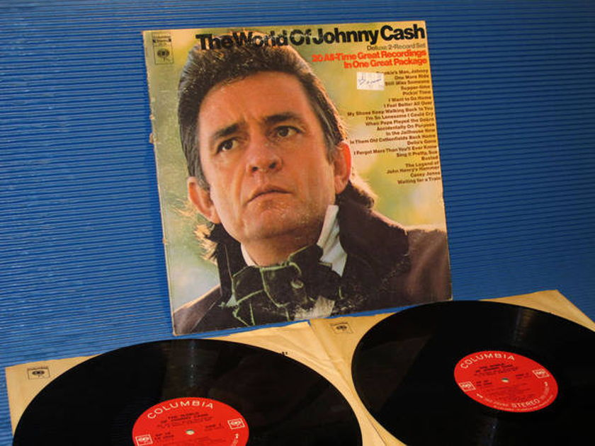 "JOHNNY CASH -  - ""The World Of Johnny Cash"" - Columbia '360 2 Eye' 1970"