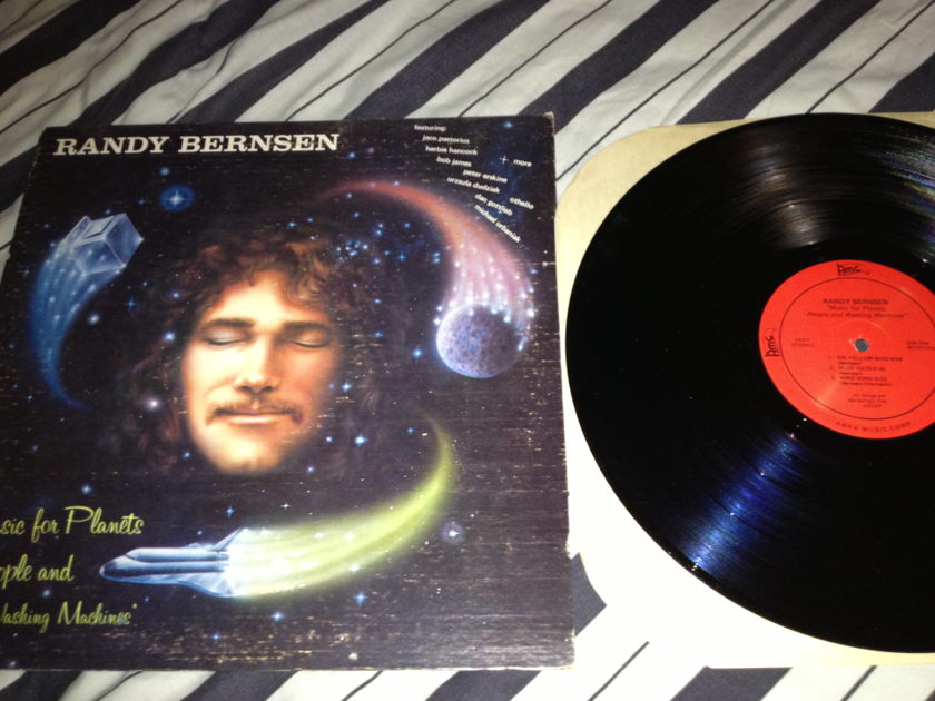 Randy Bernsen - Music For Planets Peoples And Washing Machines LP NM