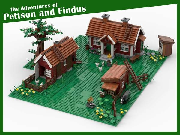 lego The Adventures of Pettson and Findus