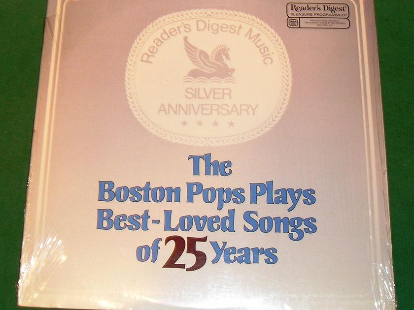 The Boston Pops Plays Best Loved Songs of 25 Years - READER'S DIGEST SERIES ***NM 9/10***
