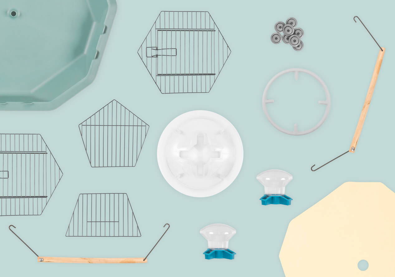 Geo Bird Cage parts and accessories
