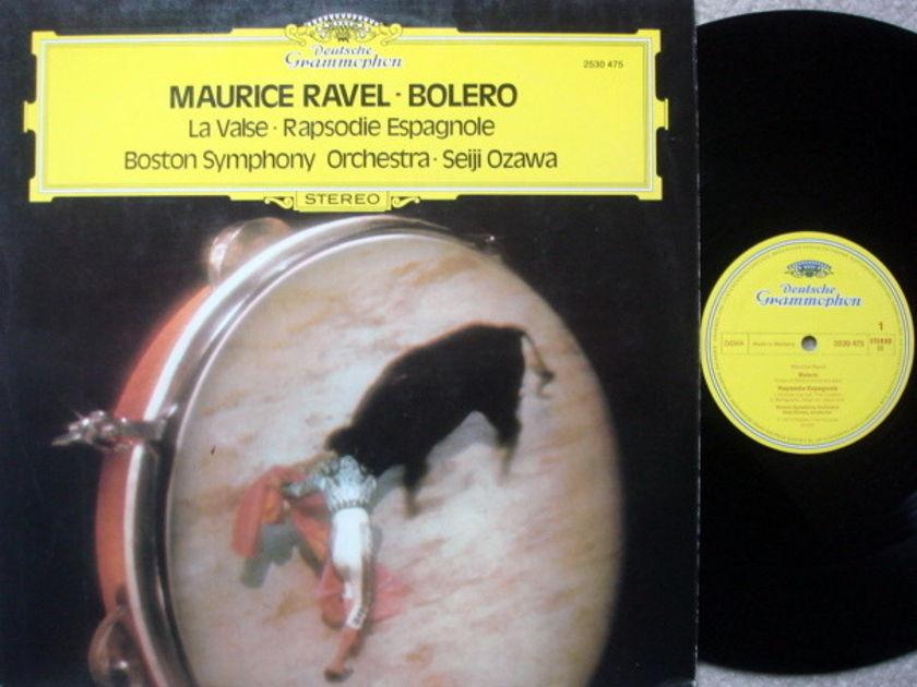 DG / SEIJI OZAWA-BSO, - Ravel Bolero, La Valse, Rhasodie Espagnole, MINT!