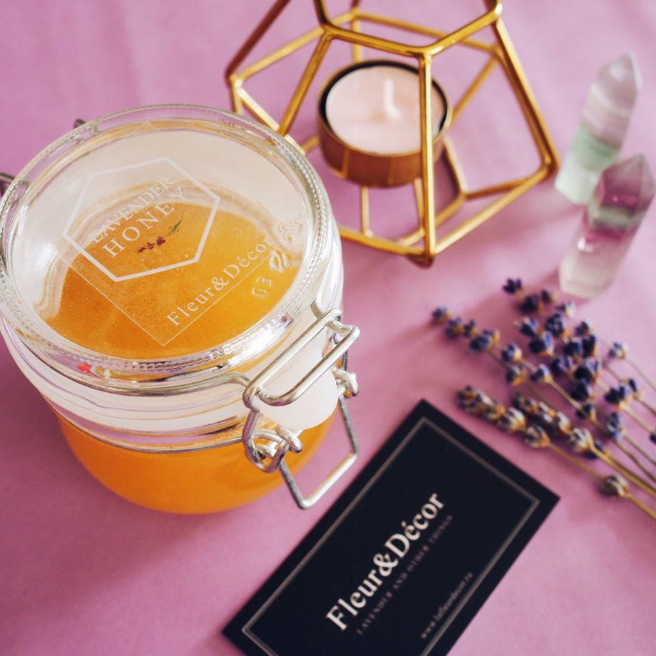 Лавандовый мёд горный и полевой
