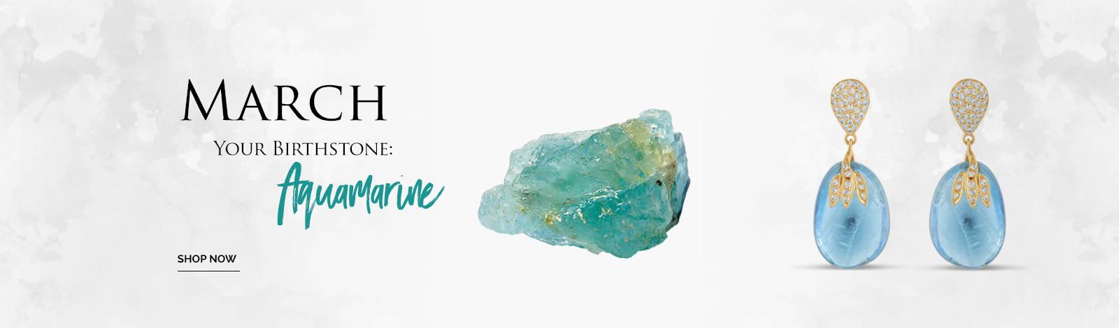 March Birthstone; Aquamarine
