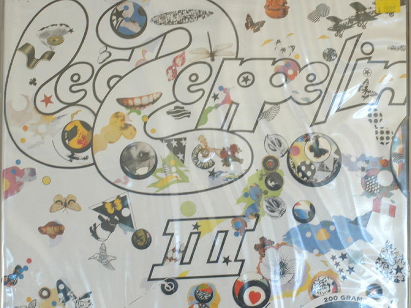 Led Zeppelin III 3 Sealed - Clasic Records 200 Grams Sealed Audiophile Pressing